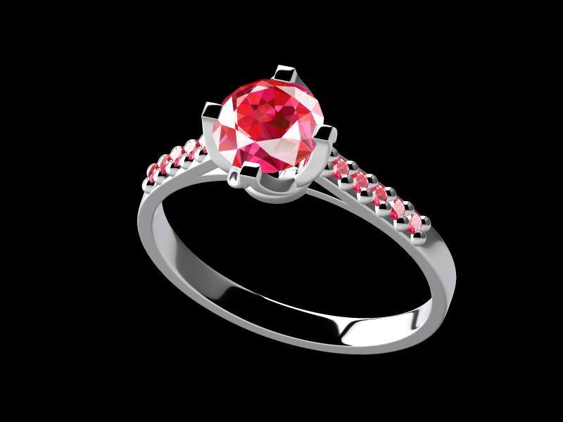珠宝定制中受追捧的彩色宝石:红宝石