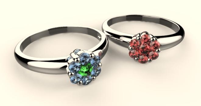 彩色寶石讓珠寶定制更完美-寶瓏網