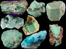 宝珑网彩色宝石知识-绿松石