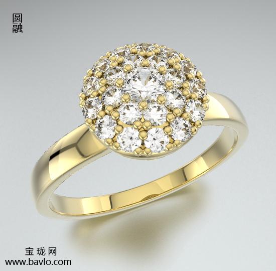 宝珑珠宝钻石戒指