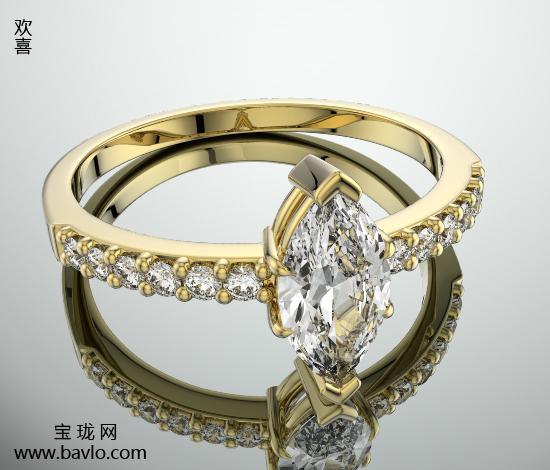 寶瓏珠寶彩色寶石戒指