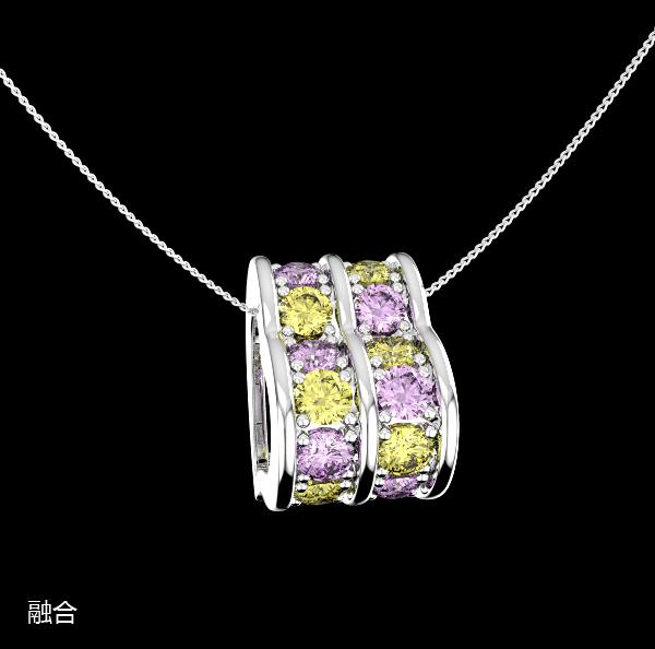 寶瓏珠寶彩色寶石吊墜