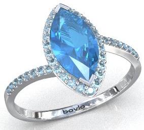天藍色托帕石----寶瓏網