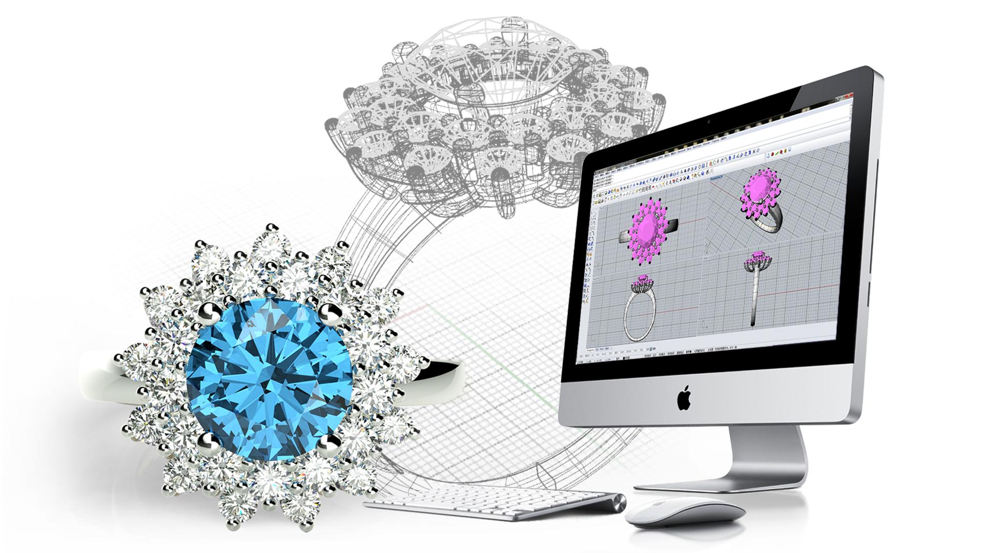 宝珑 珠宝设计 cad 软件 电脑起版