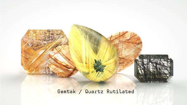 Gemtak 彩色寶石 鉆石 發晶