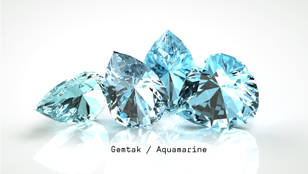 Gemtak 彩色寶石 鉆石 海藍寶