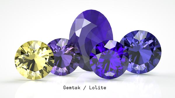 Gemtak 彩色寶石 鉆石 堇青石