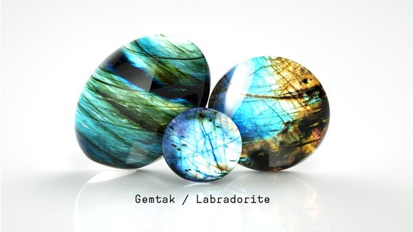 Gemtak 彩色寶石 鉆石 拉長石