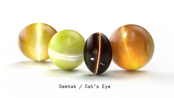 Gemtak 彩色宝石 钻石 猫眼石