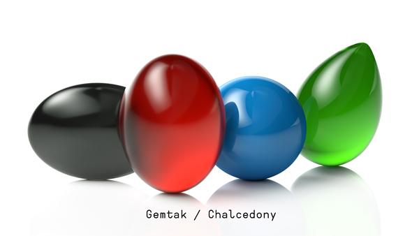 Gemtak 彩色寶石 鉆石 玉髓