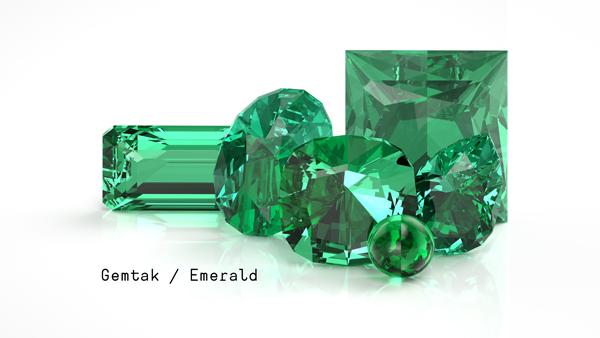 祖母綠 Gemtak 彩色寶石 鉆石